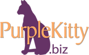 Purple Kitty logo
