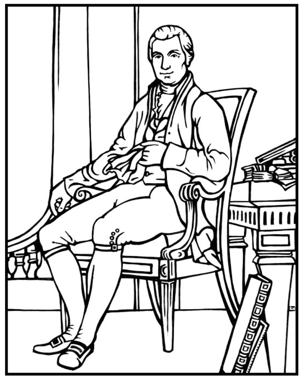 james k polk coloring pages - photo#24