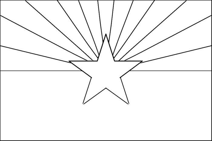 coloring pages of arizona - photo#10
