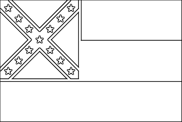 coloring pages of state flags - photo#14