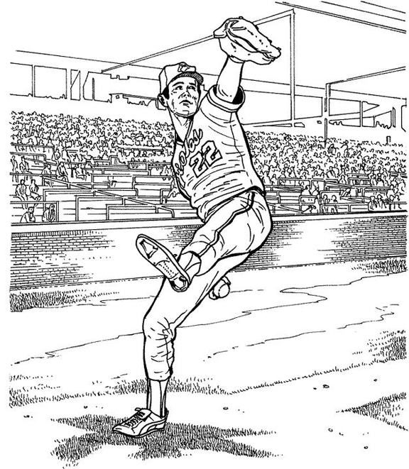 baseball player coloring pages Baltimore Orioles Player Baseball Coloring Page | Purple Kitty baseball player coloring pages