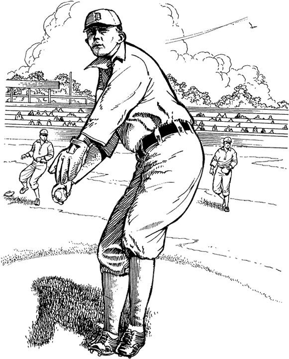 detroit tiger coloring pages - photo#17