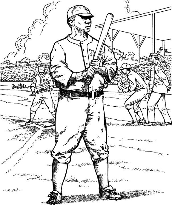 mlb players coloring pages - coloring pages of cardinals baseball players coloring pages