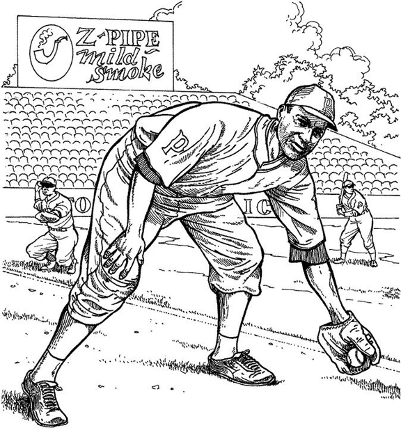 pirates logo baseball coloring pages - photo#5