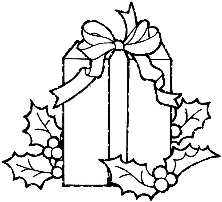 Free Coloring Pages Of Color Gift Box Coloring Pages Gifts