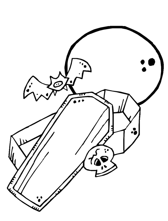 coloring pages full moon - photo#23