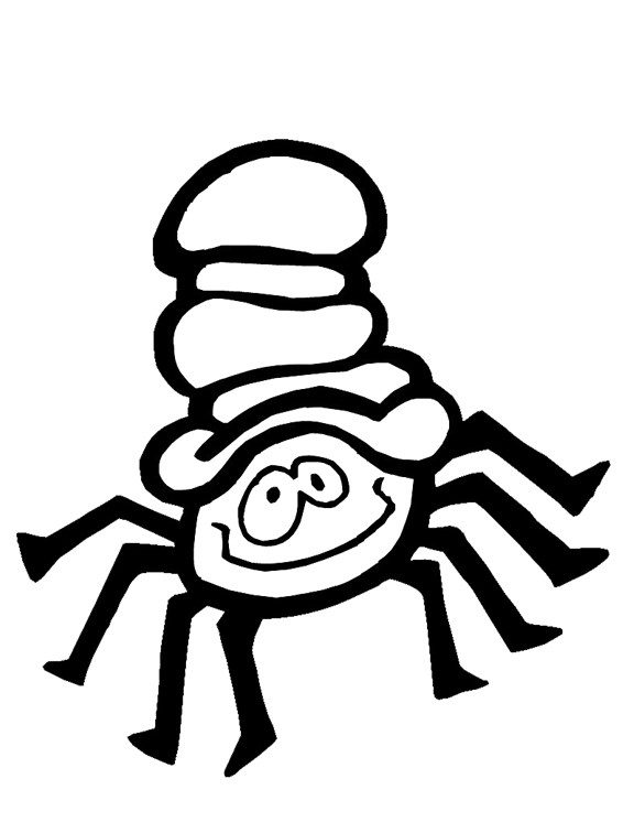 itsy bitsy spider coloring pages - photo#25