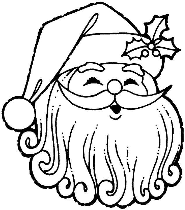 Santa Claus Coloring Pages 2