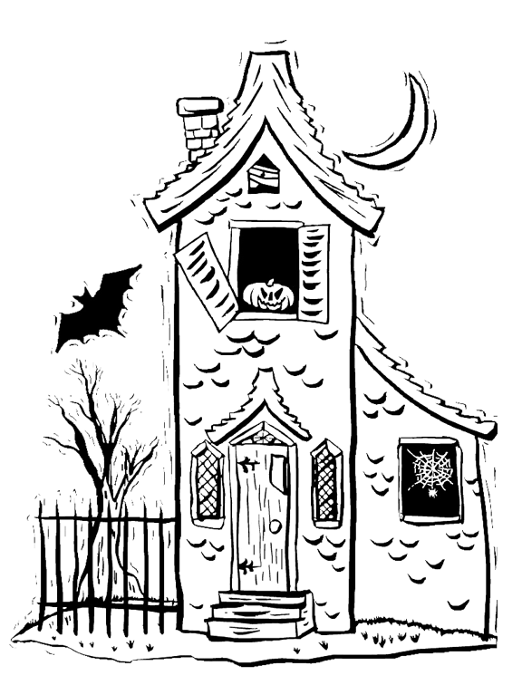 how to draw a haunted bed