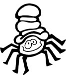 itsy bitsy spider coloring page - halloween coloring pages purple kitty