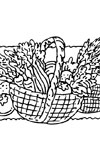 Thanksgiving Coloring Pages   Purple Kitty