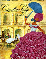 Crinoline Lady in Crochet