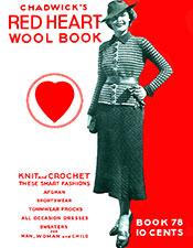 Red Heart Wool Book