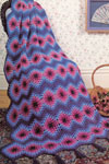 Free Vest Patterns And Crochet And Yarn Purple Kitty : Free Crochet Afghan Patterns Mile-A-Minute Afghan ...