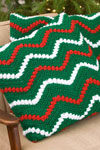 christmas ripple pillow