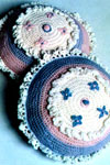 baby pillow crocheted