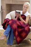 blushing grannies afghan pattern