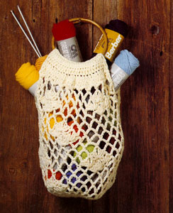 Free Vest Patterns And Crochet And Yarn Purple Kitty : Crochet Shopping Bag Pattern Purple Kitty