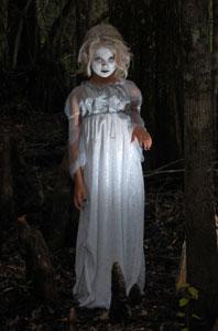 Ghost Halloween Costume Purple Kitty