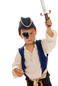 Pirate Hat to Make for Pirate Costume - Kids Educational