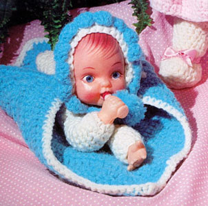 Bitty Baby Cuddle Wrap by PeaFox519 on Etsy