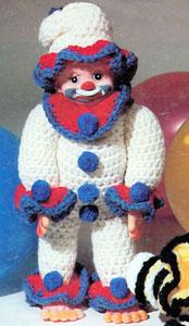 Free Vest Patterns And Crochet And Yarn Purple Kitty : Jolly Joe the Clown Purple Kitty