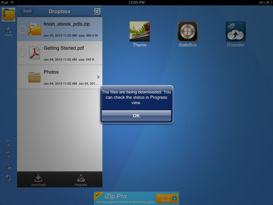 How to Open & Extract Files from Zipped Folder in iPad