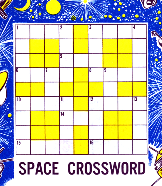 astronomy crossword puzzle printable - photo #29