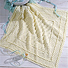 Diagonal Stripes Afghan Square – Free Crochet Pattern for an