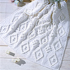 Lacy Lapghan or Baby Blanket Sized Afghan Free Crochet Easy