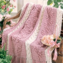 Free Crochet Pattern - Mile-A-Minute Panel Afghan from the