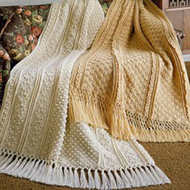 Pin Aran Crochet Afghan Pattern on Pinterest