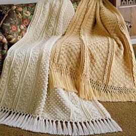 Free Crochet Patterns Fisherman Afghan : Pin Aran Crochet Afghan Pattern on Pinterest