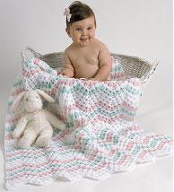 FREE BABY RIPPLE CROCHET BLANKET PATTERN « CROCHET FREE PATTERNS