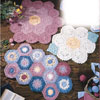 flower garden rugs crochet pattern