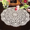 Breezy Pineapple Doily Thread Crochet Pattern