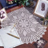Star of Hope Doily Thread Crochet Pattern