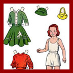 kathy a hobby doll paper doll