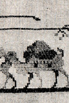 Camels Cross Stitch Pattern