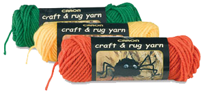 Caron Craft Rug Yarn Can Be Transformed Into Mop Dolls Wreaths Seasonal Characterore The Super Bright Color Palette And Workable Texture