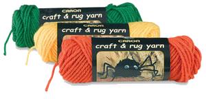 Caron Craft Rug Yarn Purple Kitty